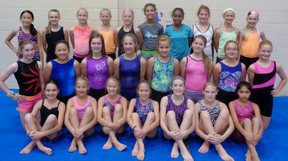 gymnastics group